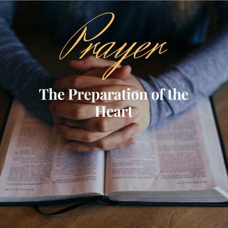 gallery - Prayer - The Preparation of th