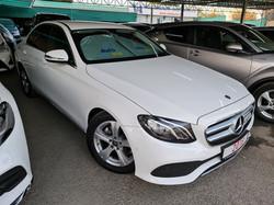 Mercedes E220d White 01