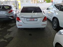 Mercedes E220d White 05