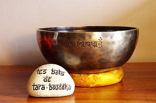 bol chantant tibétain martelé full moon