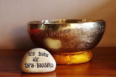 bol chantant tibétain martelé 7 métaux purs mantra om mani padme hum
