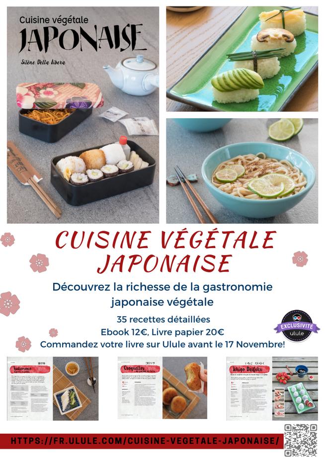 Cuisiné végétale japonaise : découvrez mon livre!
