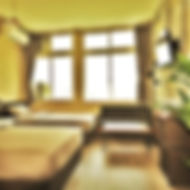4people standard room in myplace guest house Okinawa