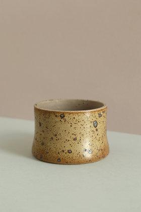 Pot céramique mouchetée