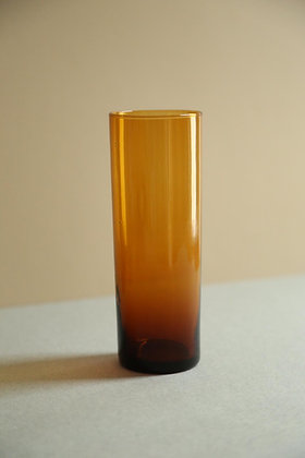 6 verres à limonade en verre vermeil