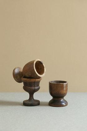 Coquetier en bois
