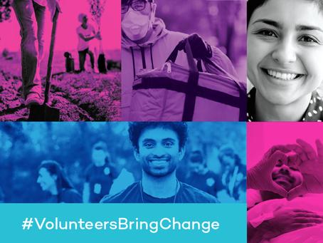 #VolunteersBringChange