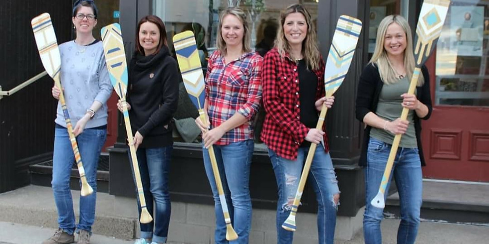 Virtual Annie Sloan Chalk Paint™ - Canoe Paddle Workshop