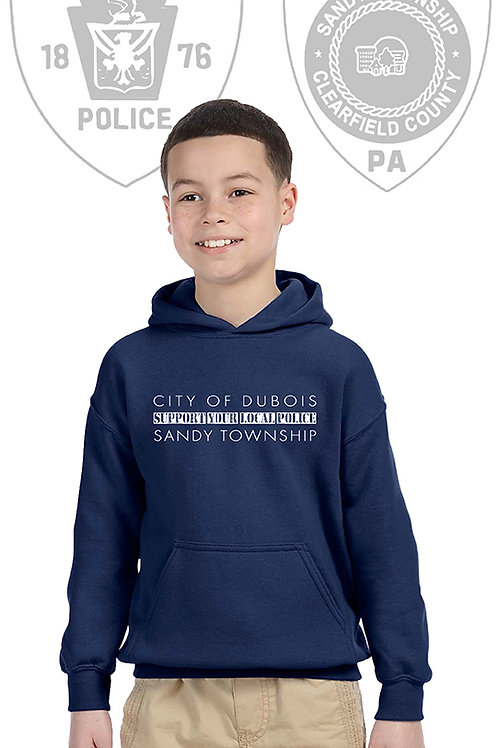 Back the Blue Youth Hoodie