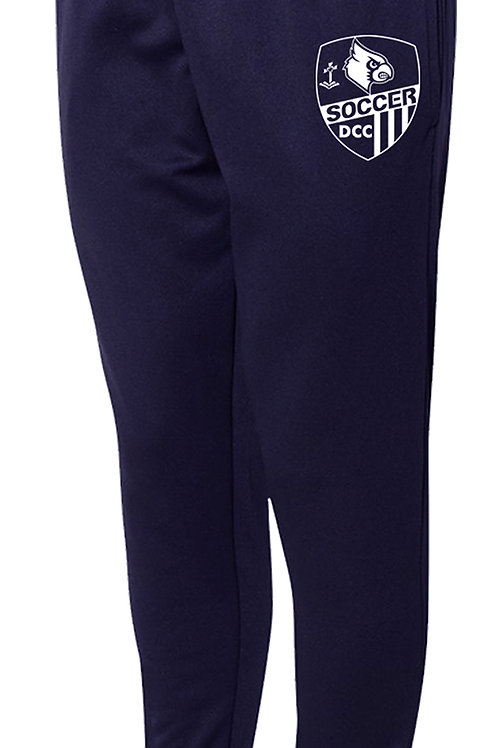 100% Polyester Navy Joggers