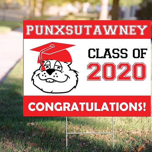 Punxsutawney Sign