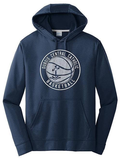 100% Polyester Navy Hoodie