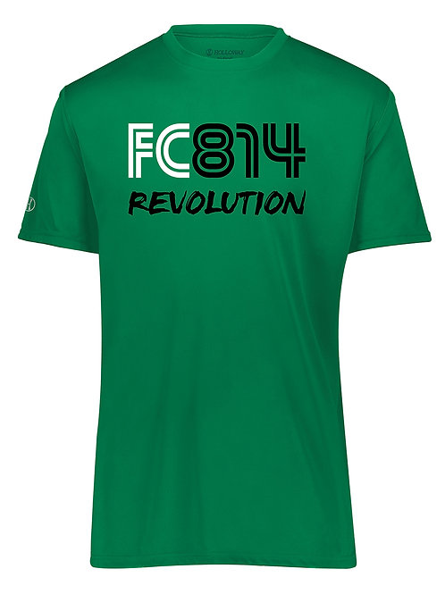100% Polyester Green Tee