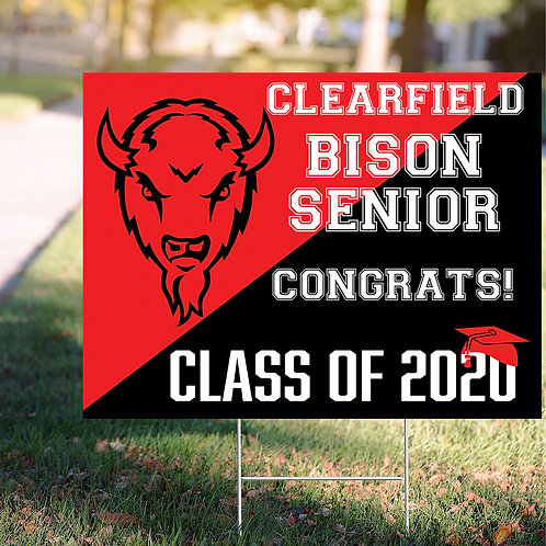 Clearfield Sign