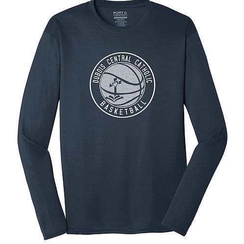 100% Polyester Navy Long Sleeve