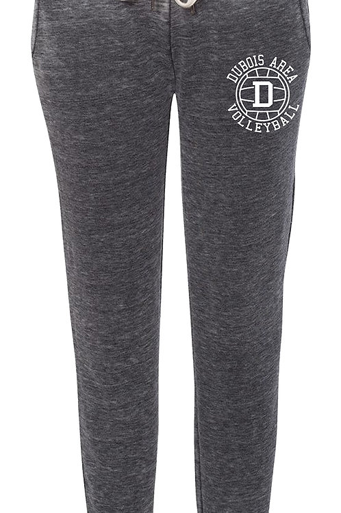 55/45 Cotton/Polyester Ladies Burnout Sweatpants