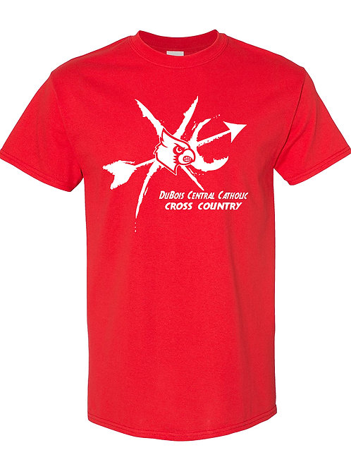 100% Cotton Red Tee