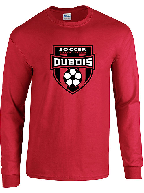 100% Cotton Red Long sleeve