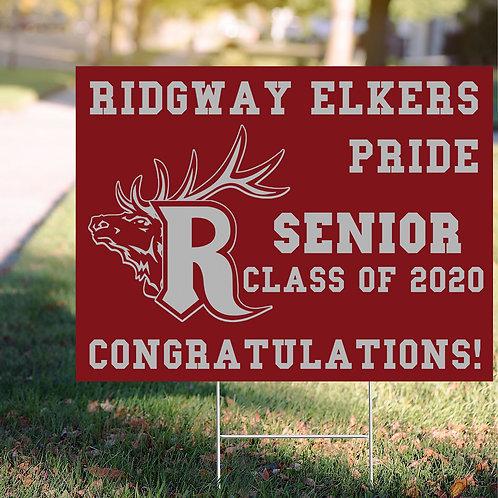 Ridgway Sign