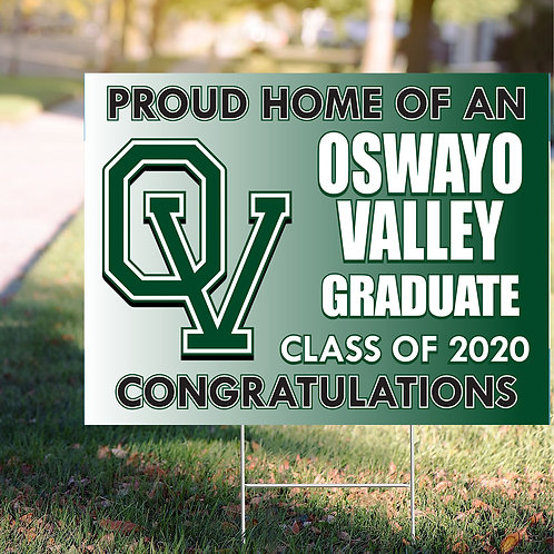 Oswayo Valley Sign