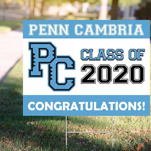 Penn Cambria Sign