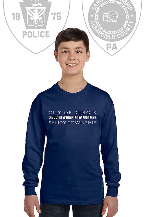 Back the Blue Youth Long Sleeve