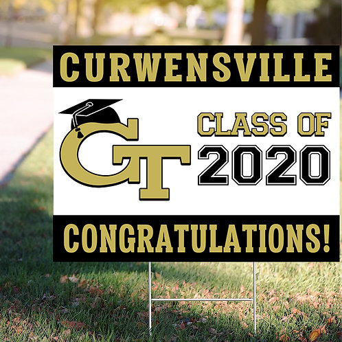Curwensville Sign