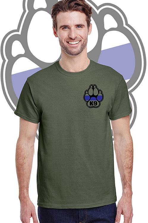 K-9 Military Green Tee