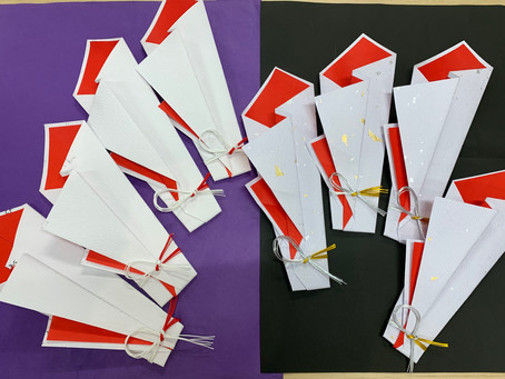 【折形礼法 木花包】カルッツかわさき 生徒様の作品