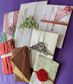 画像-1 ご祝儀袋と略式紙幣包ポチ袋