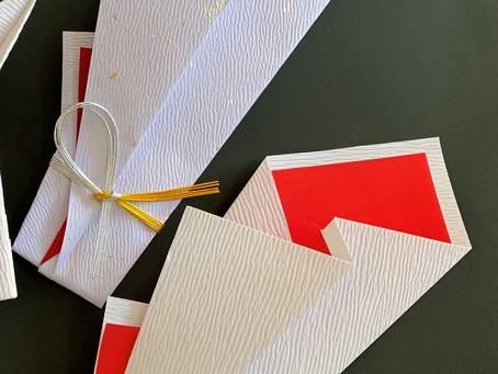 【1月の折形礼法】木花包  折形礼法、水引カルチャー俱楽部
