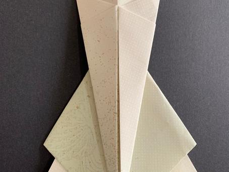 【折形礼法 菖蒲節供粽用きな粉包み】折形礼法、水引カルチャー倶楽部