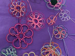 【水引 飾り結びの練習】カルッツかわさき 生徒様の作品です。折形礼法、水引カルチャー倶楽部