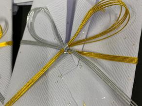【折形礼法 増進紙幣包】カルッツかわさき 生徒様の作品     折形礼法、水引カルチャー倶楽部