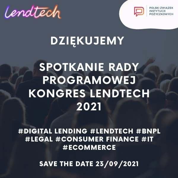 Rada Programowa Kongres Lendtech 2021