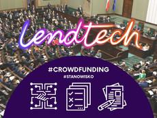 Crowdfunding - projekt ustawy o finansowaniu społecznościowym. Opinia Fundacji Lendtech