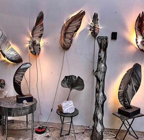 collection de lampes Romain de Souza