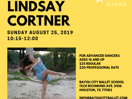 Contemporary Class with Lindsay Cortner