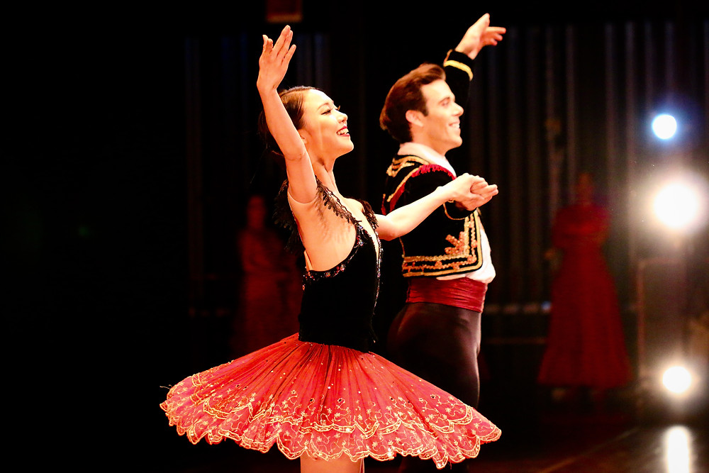 Connor Walsh and Chae eun Yang of Houston Ballet