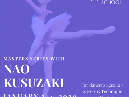 Masters Series with Nao Kusuzaki