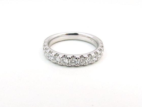 18kt White Gold Wedding Ring