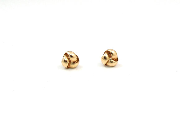 14kt Yellow Gold Studs
