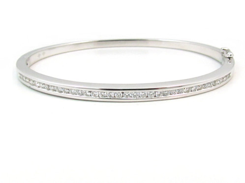 gold bracelet bangle bangles white yhst diamond