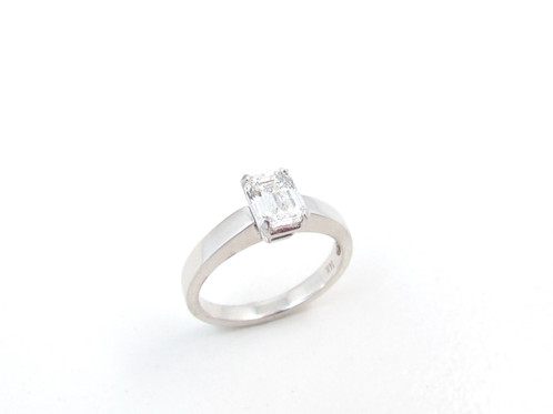 own stone cut ct your in zac engagement diamond platinum emerald tw vi setmain posen jewellery build three truly ring