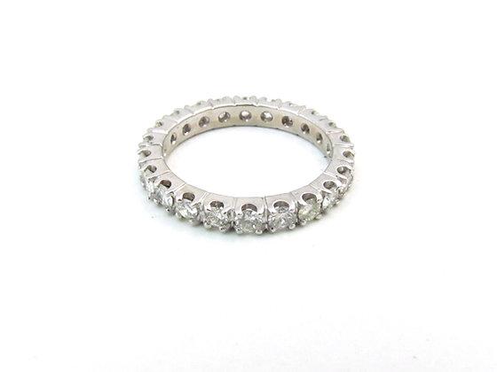 14kt White Gold Diamond Eternity Ring