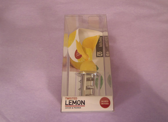 Lemon Juicer & Pourer -Yellow