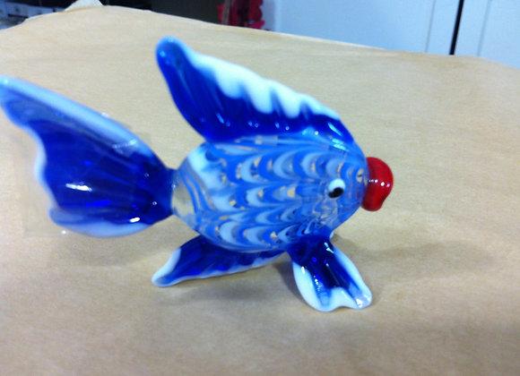 Blue Glass Fish