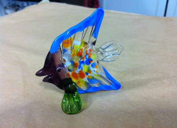 Multi Coloured Glass Fish