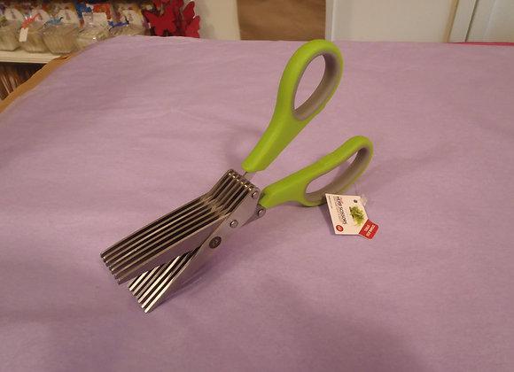 Herb Scissors-Green Handle