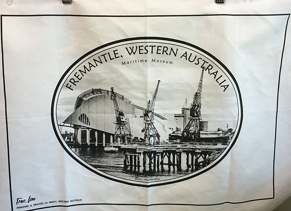 Tea Towel Fremantle Port Theme